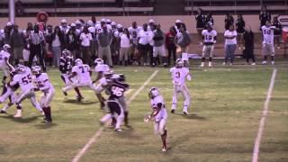 fontana high school vs miller football 2013