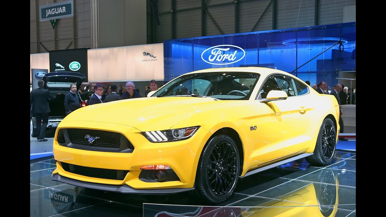 Ford mustang genf 2014