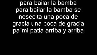 LA BAMBA CON LETRA