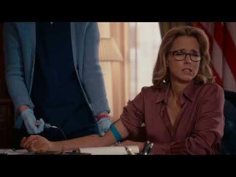 dramatic  as Tea Leoni's nurse on  Madam Secretary