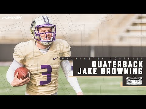 Football: Jake Browning Spring Preview Pac-12 Network Interview
