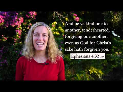 Ephesians 4:32 KJV - Be ye kind on to another - Musical Memory Verse