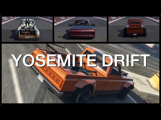 Declasse Yosemite Drift • Customisation, performance et gameplay • GTA Online