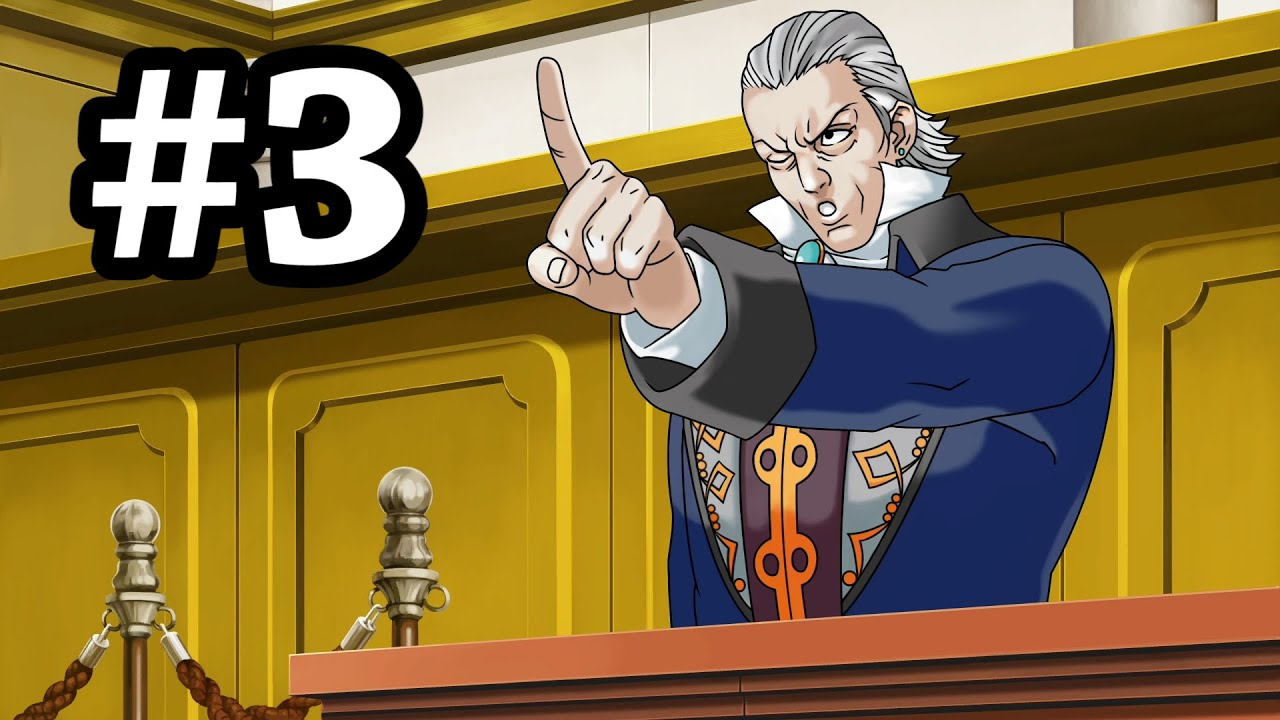 A Man Who Loves Crime plays Phoenix Wright: Ace Attorney - Part Three