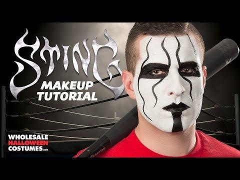 Sting makeup