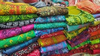 পাইকারি দামে যশোরের হাতের কাজের দারুন থ্রি পিচ কালেকশন |hardworking dress collection and price