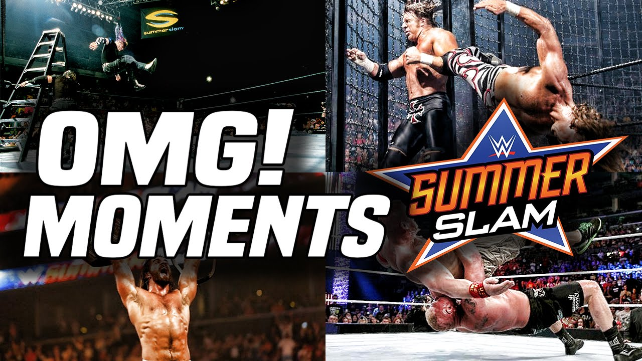 The Best OMG! Moments In SummerSlam History | Los Mejores Momentos OMG! En SummerSlam