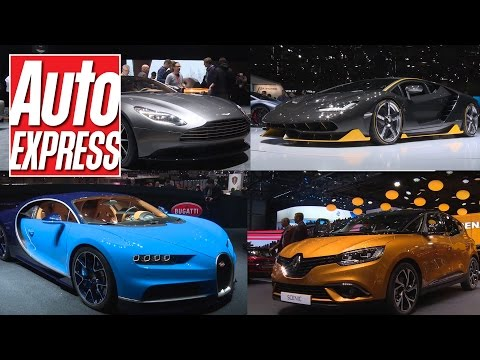 Geneva Motor Show 2016: all the best bits