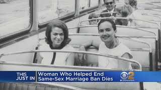 Marriage Equality Pioneer Edith Windsor Dead At Age 88