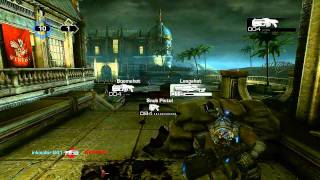Gears of War 3 Boomshot & Snipes Event (Gameplay Commentary)