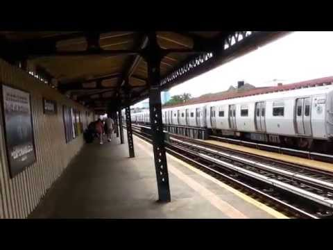 Broadway Subway Station (N,Q lines. Astoria, Queens NYC 2014)