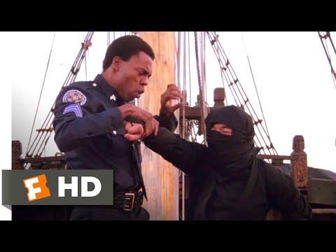 Police Academy 4 (1987) - Cops vs. Ninjas Scene (7/9) | Movieclips