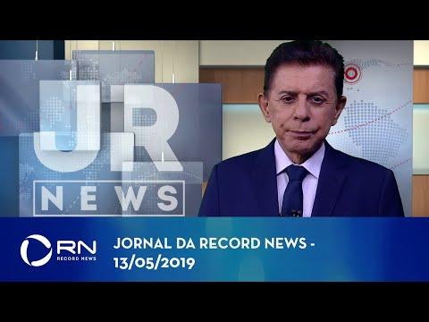 Jornal da Record News com Heródoto Barbeiro - 13/05/2019