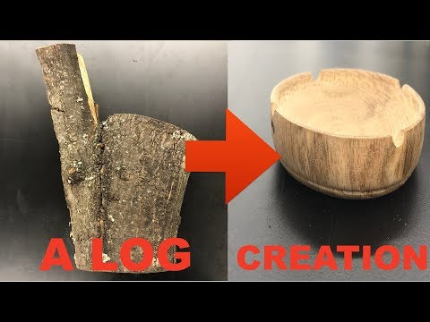 CAMP LOG TO CREATION:Making An Ashtray From Scratch (HANDMADE)