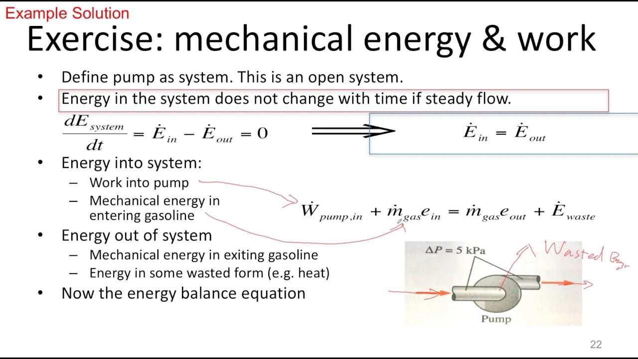 Equation For Mechanica... Mechanical Energy Formula