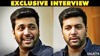 Jayam Ravi on Casting Couch, Controversies and Ajith! Galatta Exclusive   Tik Tik Tik