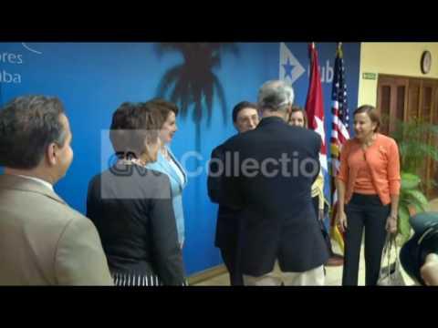 US CONGRESSIONAL DELEGATION MEET CUBAN OFFICIALS