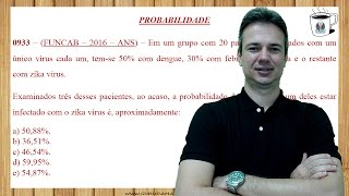 0933 - FUNCAB - PROBABILIDADE