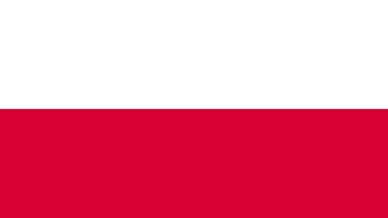 Bandera E Himno Nacional De Polonia