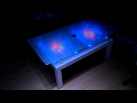 tisch mit led effekten youtube. Black Bedroom Furniture Sets. Home Design Ideas