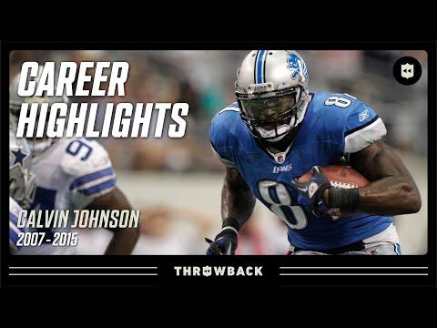 Calvin Johnson: MEGATRON   NFL Legends Highlights