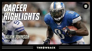Calvin Johnson: MEGATRON | NFL Legends Highlights