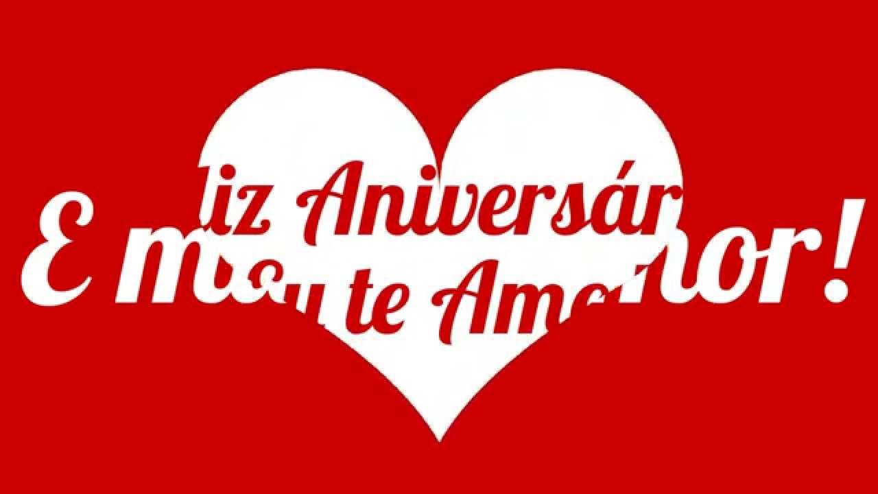 Feliz Aniversário Meu Amor Youtube