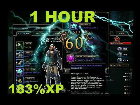 Neverwinter LVL 60 IN 1 HOUR
