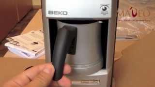 Кофеварка BEKO для приготовления кофе по-турецки(Умная турка BEKO! Приготовит кофе по-турецки и никуда не даст ему сбежать :Р http://kofeta.ru/goods/kofevarka-beko-2113-m., 2014-07-28T13:29:04.000Z)