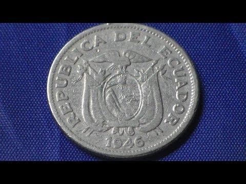 Equador - 1 Sucre 1946, Moeda do País entre 1884 e 2000: Mauro C. de Jesus.