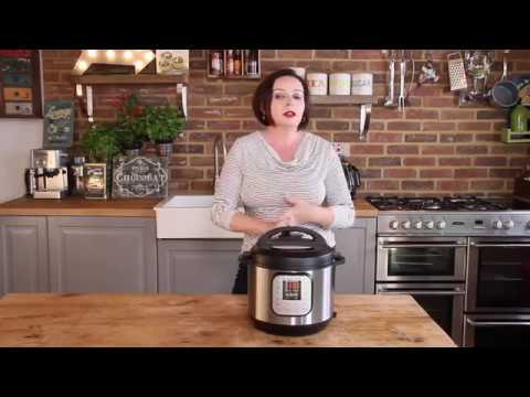 Instant Pot Duo V2 7-in-1 Electric Pressure Cooker, 6 Qt, 5.7L 1000 W, Brushed Stainless Steel/Black