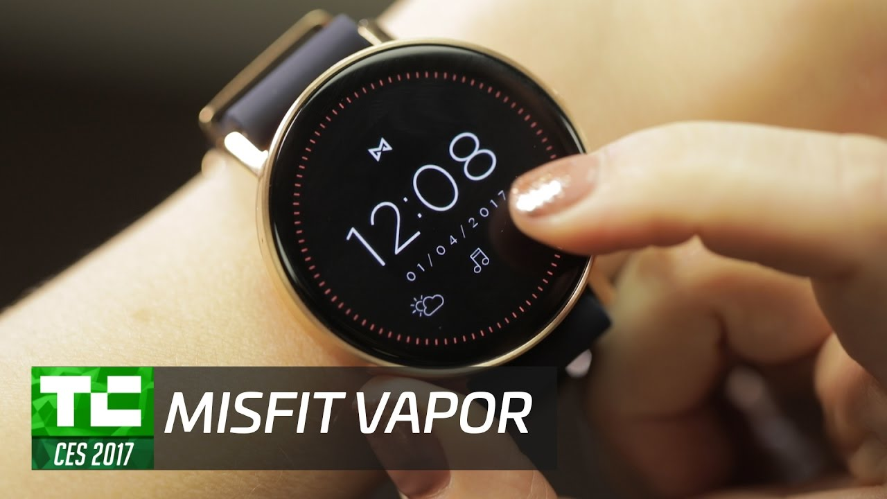 18f529b09d6 Misfit goes full-on smartwatch with the Vapor - YouTube