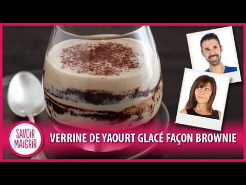 verrine-de-yaourt-glacé-façon-brownie---cuisine-facile