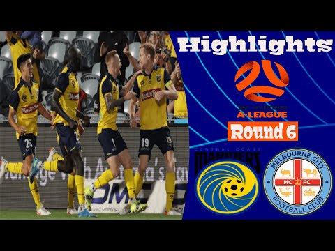 Melbourne City Central Coast Goals And Highlights
