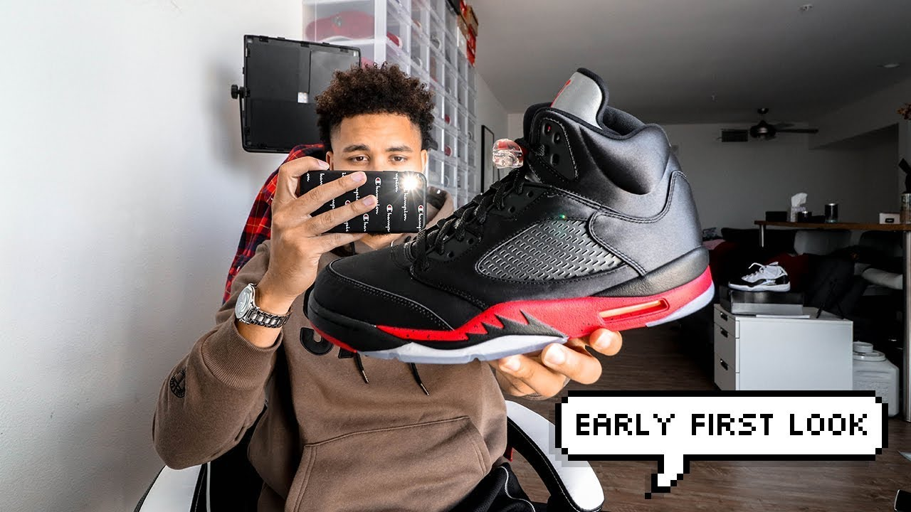 Air Jordan 5 Satin Bred 2018 First Thoughts!!! - YouTube 3c58fa604