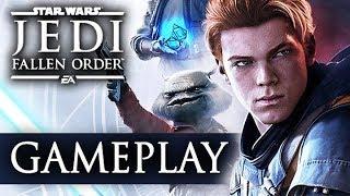 REAKCJA NA GAMEPLAY STAR WARS JEDI FALLEN ORDER NA EA PLAY 2019 ☄️