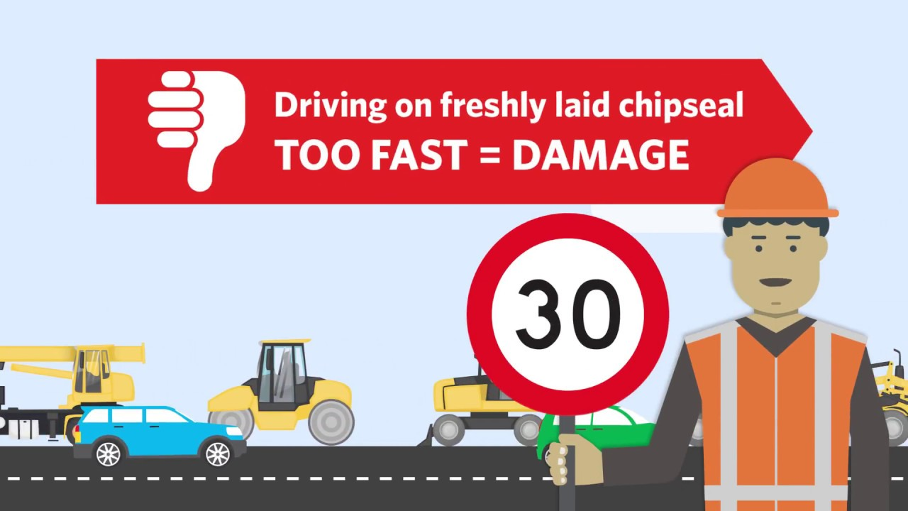 Tips for driving on chip seal (long version)