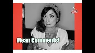 Reading My Mean Comments! by CHERRY DOLLFACE