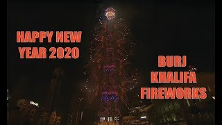 Burj Khalifa Live Fireworks 2020 countdown Happy New Year