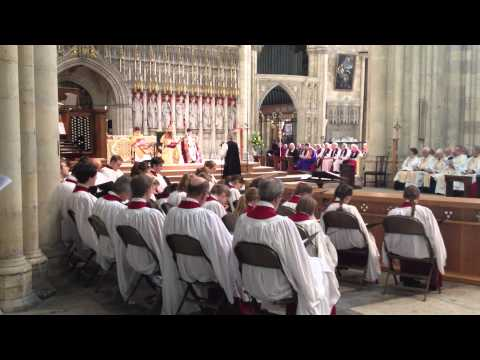 Bishop Julian, York Minster consecration; excerpt from The Liturgy of Ordination