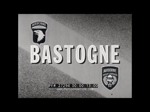BATTLE OF THE BULGE WORLD WAR II 101st AIRBORNE BASTOGNE LT. CLAIRE HESS  27294
