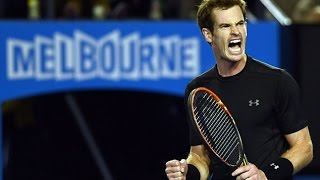 Andy Murray VS Grigor Dimitrov Highlight 2015 AO R4