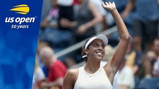 Madison Keys Keeps Rolling with a Win Over A. Krunic at the 2018 US Open
