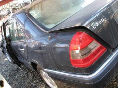 1997 Mercedes C230 SDN 4Dr Replacement Parts Car Parting Out #1552-1 Fix your car OEM
