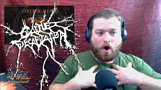 Vocal Coach Reacts | Cattle Decapitation | One Day Closer To The End Of The World