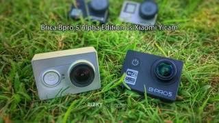 Brica Bpro 5 Alpha Edition VS Xiaomi Yicam