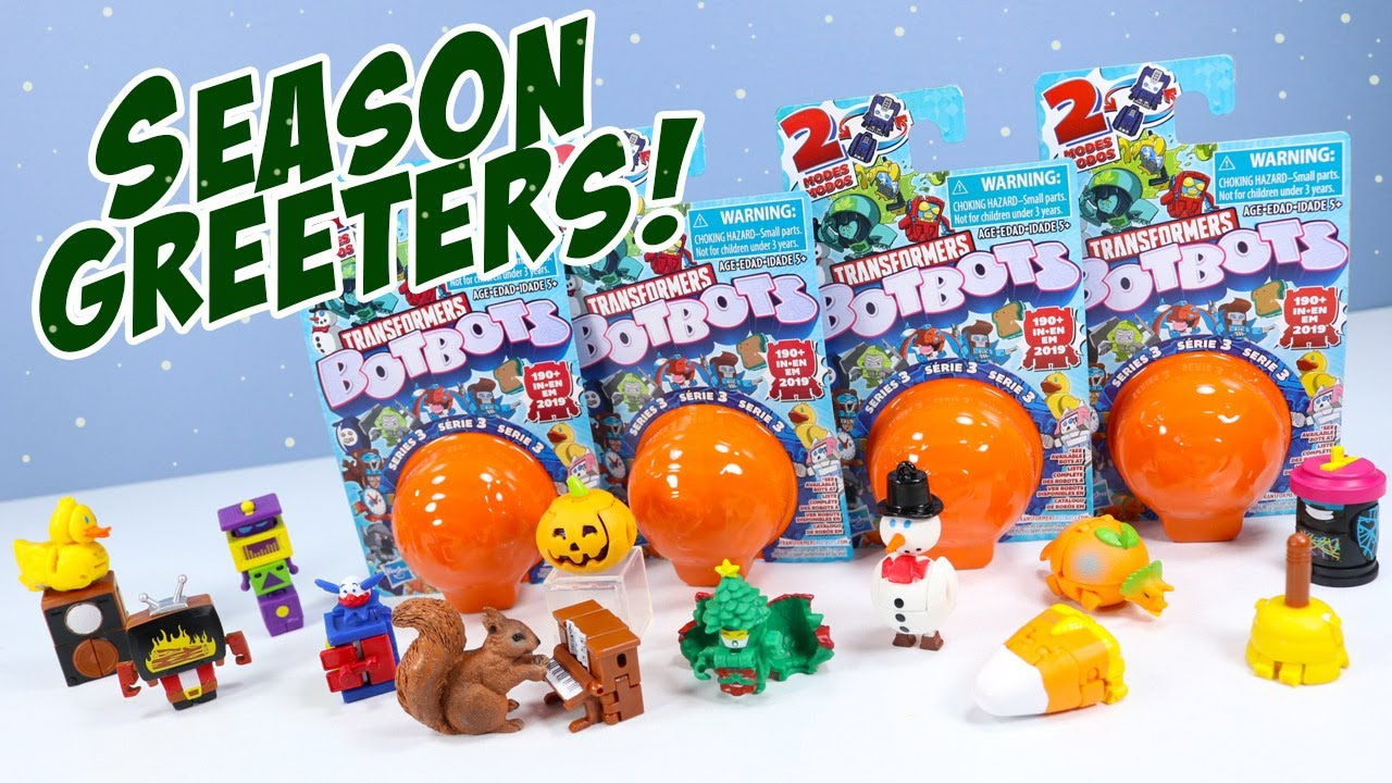 Download Transformers BOTBOTS Series 3 Season Greeters to You! Hasbro
