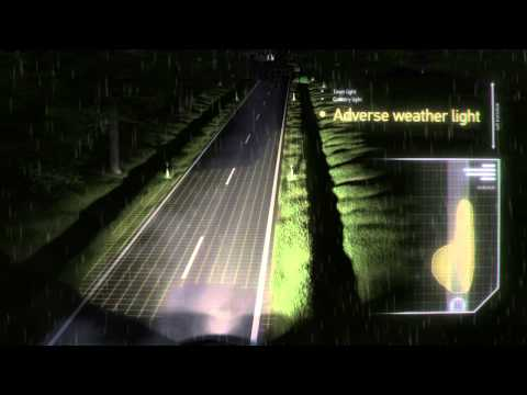 HELLA Adaptive frontlighting system - more safety and driving comfort