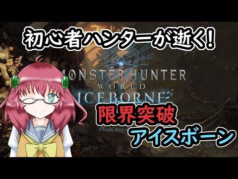 【PC版Monster Hunter:World ICEBORNE】初心者ハンターが逝く! 限界突破アイスボーン【参加者募集中!】