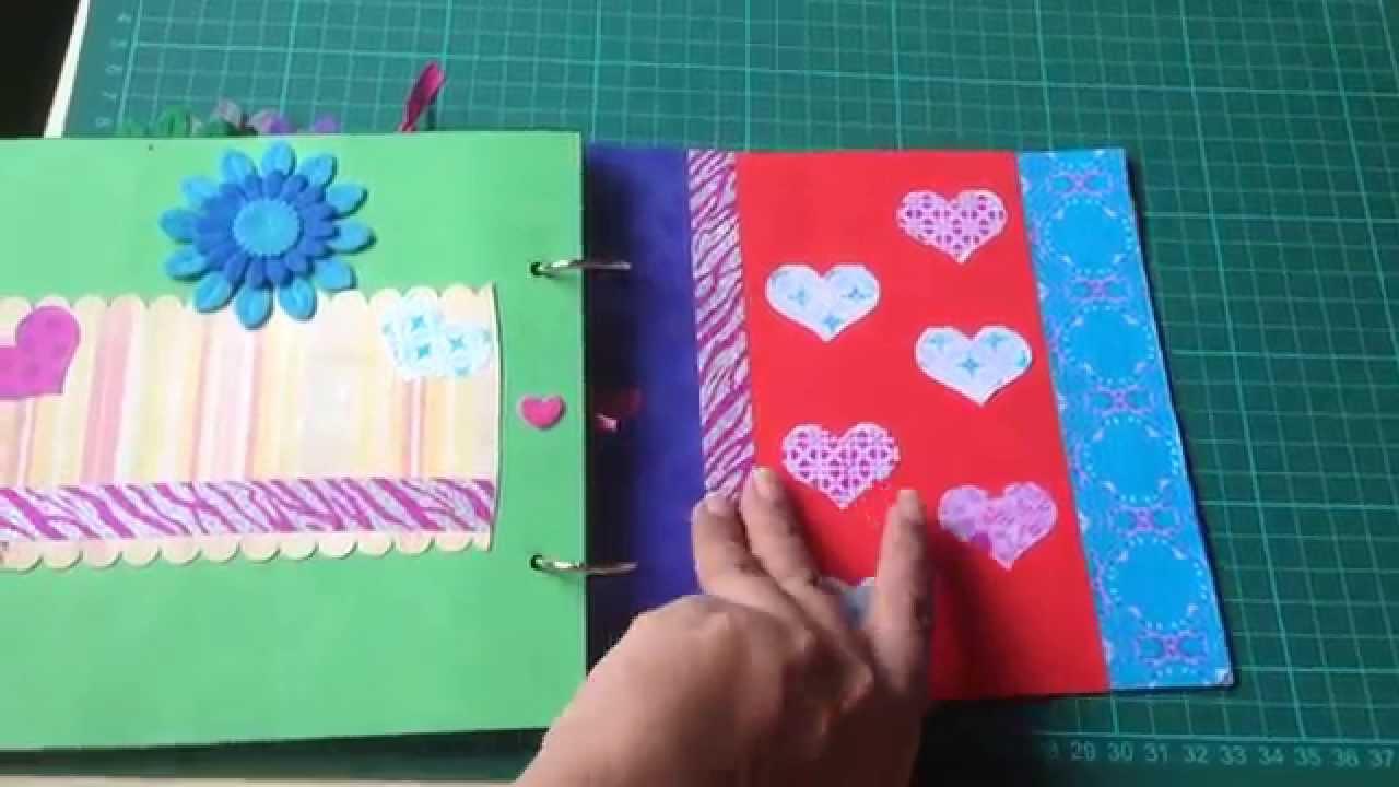 How to start scrapbook business - First Pregnancy Scrapbook Album 2016 12 11